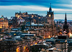 Edinburgh Scottish capital with a landmark castle Read More
