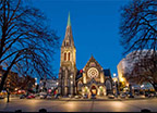 Christchurch Rejuvenated city with riverside parkland Read More