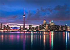Toronto Big, diverse city with the CN Tower Read More