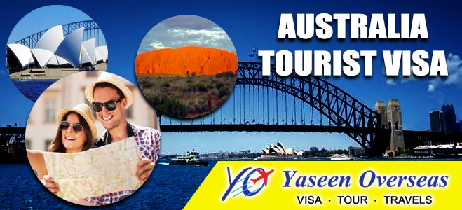 how to get australian tourist visa from india