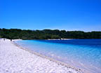 Fraser Island Huge sand island with freshwater lakes Read More