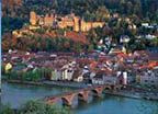 Heidelberg Old university town with hillside castle Read More