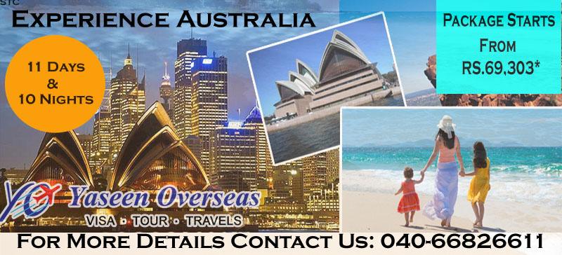 Experience 1 Australia