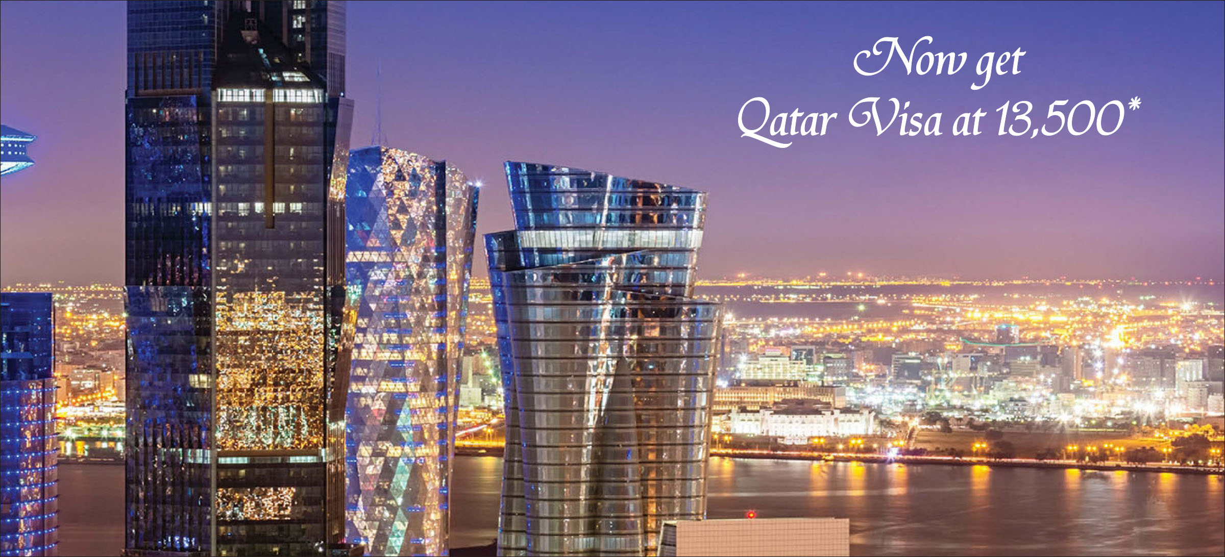 Qatar 3 months visit visa from Hyderabad | India