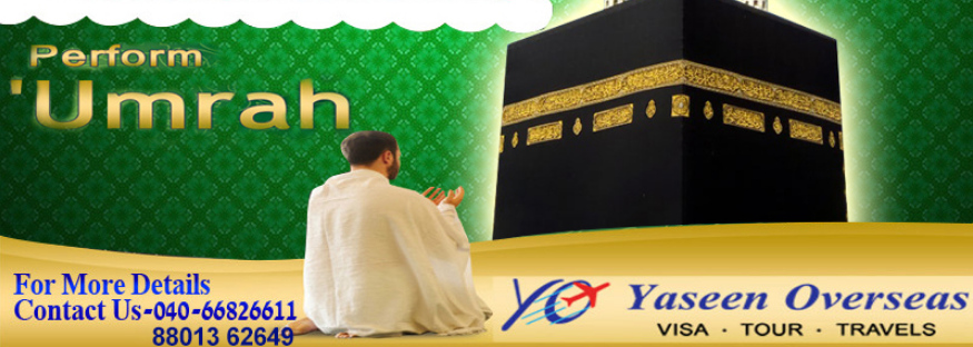 Umrah Visa Packages January 2019 from Karimnagar